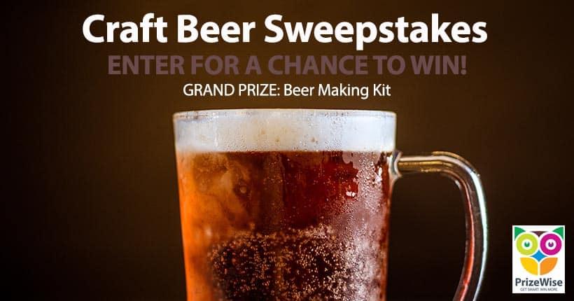 Craft Beer Sweepstakes | Prizewise