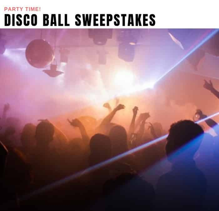 LED Disco Ball Sweepstakes