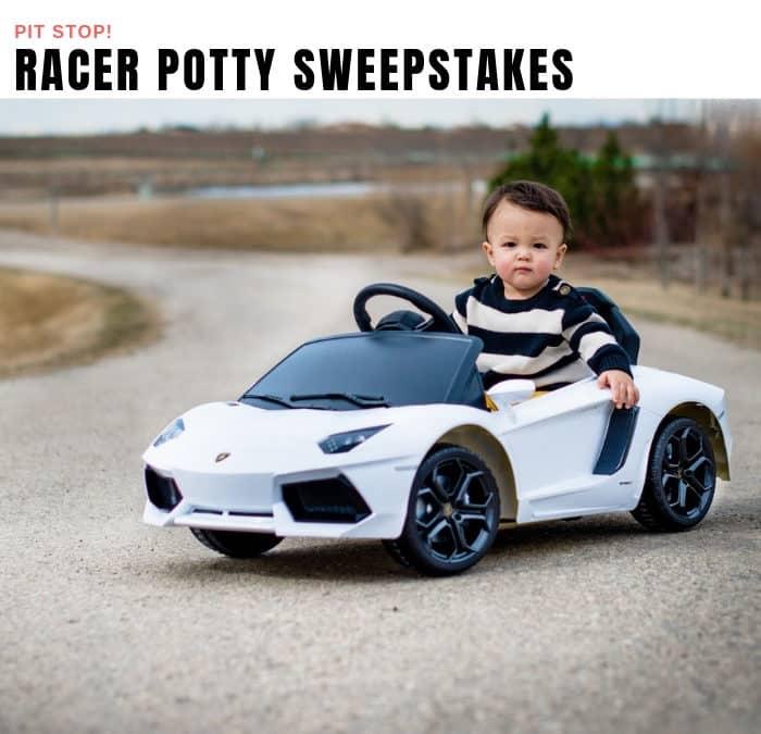 Racer Potty Sweepstakes
