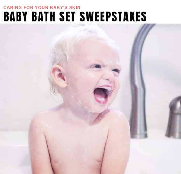 Baby Bath Set Sweepstakes
