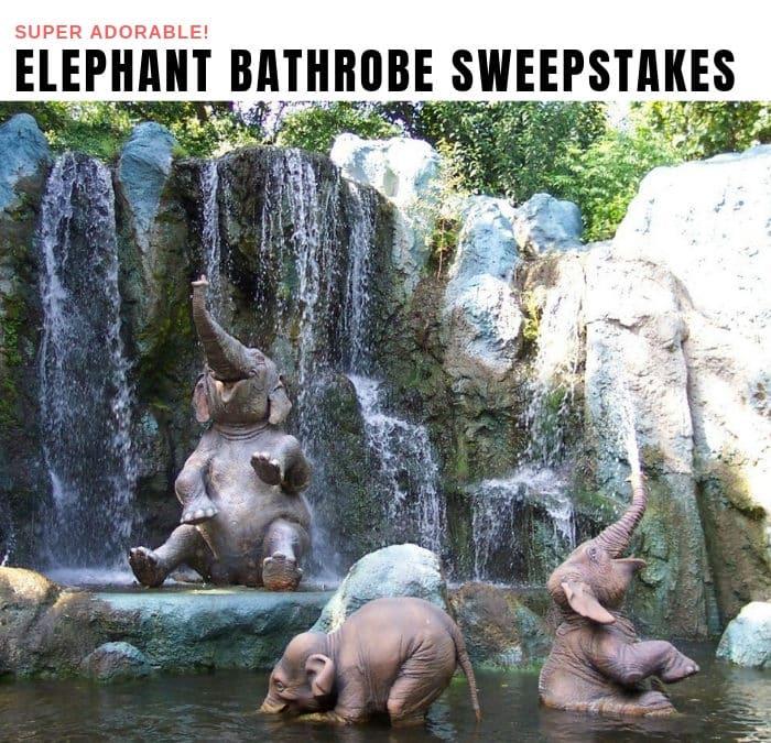 Elephant Bathrobe Sweepstakes