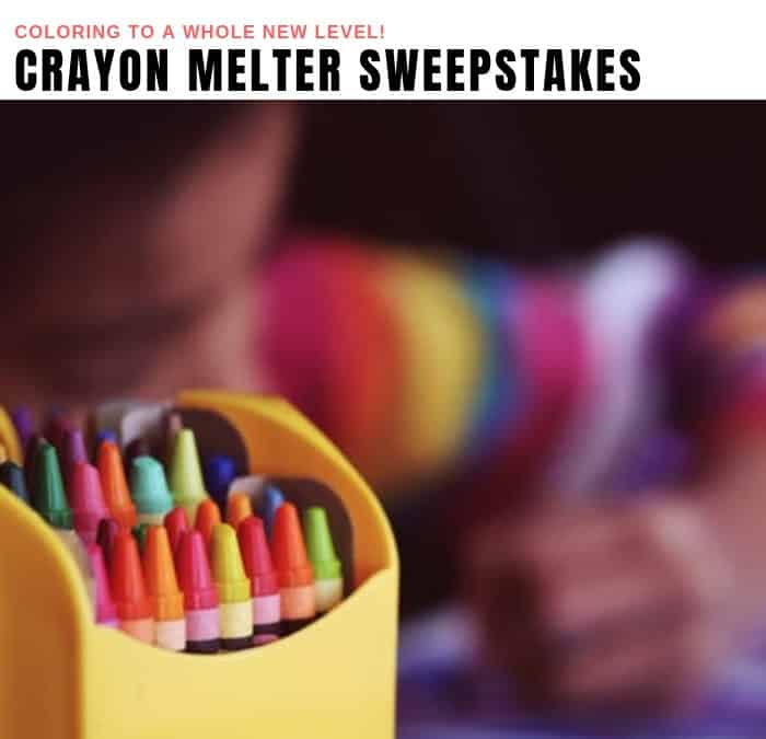 Crayon Melter Sweepstakes