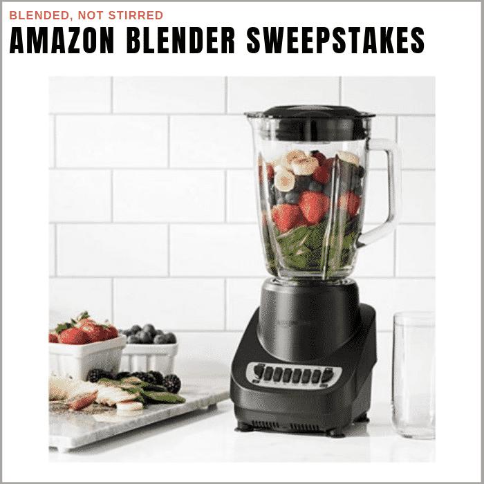 Amazon Basics Blender Giveaway | Prizewise