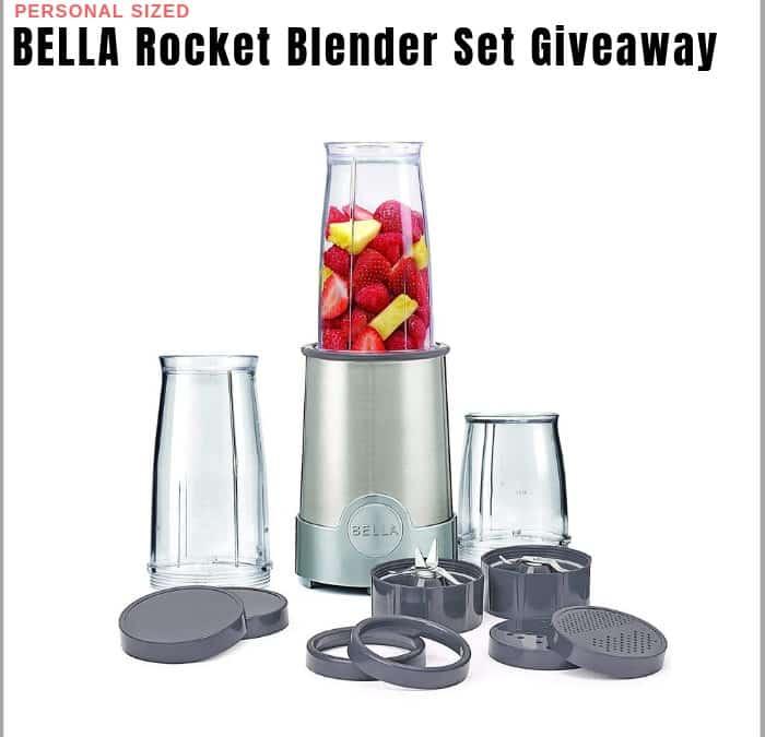 BELLA Rocket Blender Kit Sweepstakes