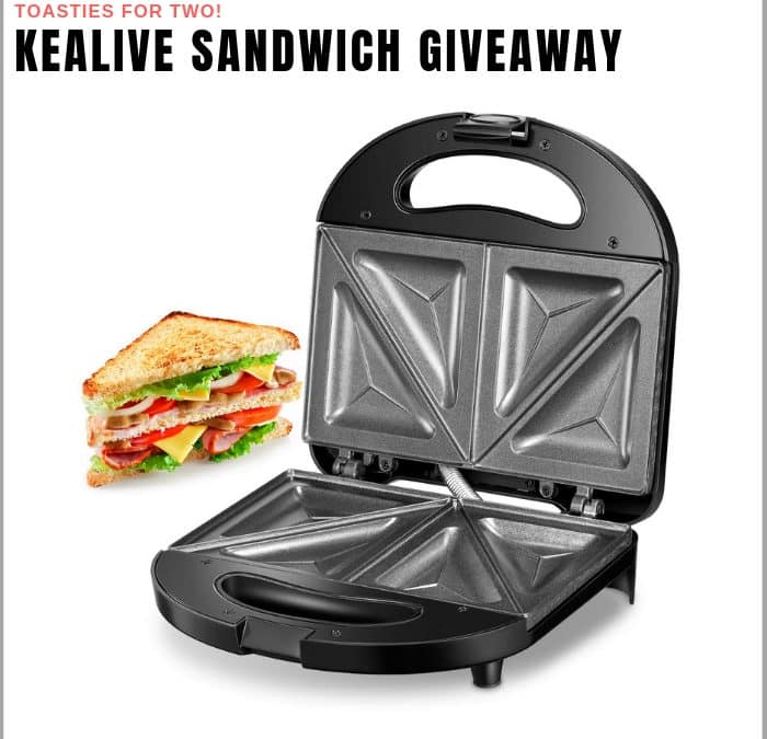 Kealive Sandwich Maker Sweepstakes!