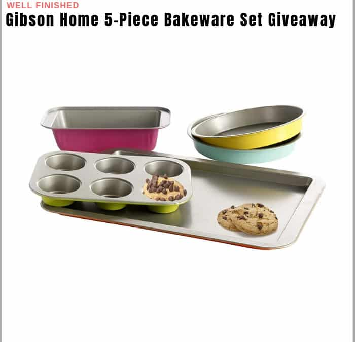 Gibson Home 5-Piece Bakeware Set Sweepstakes