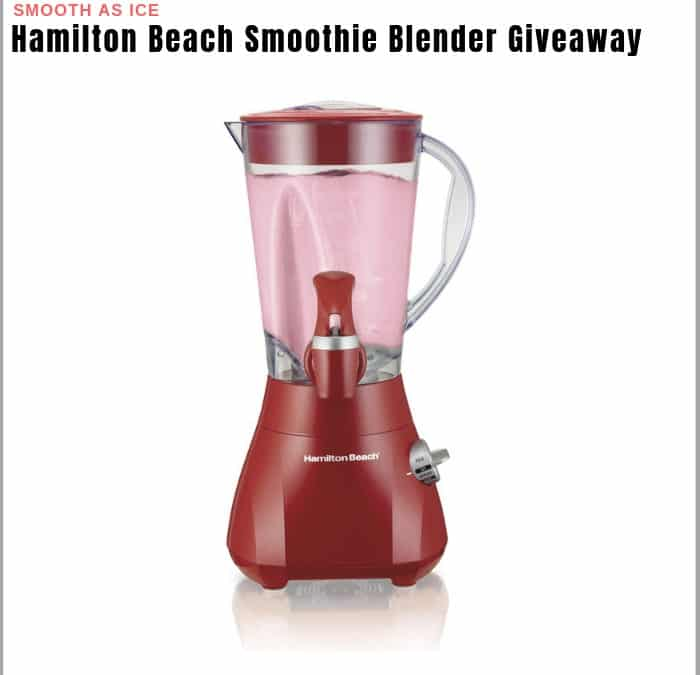 Hamilton Beach Smoothie Blender Sweepstakes