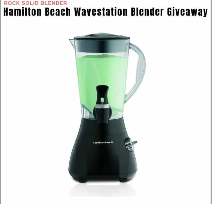 Hamilton Beach Wavestation Blender Sweepstakes